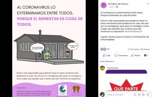 Virus y Niño Poster Results